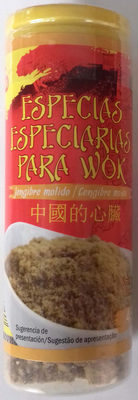 Especias para wok Jengibre molido