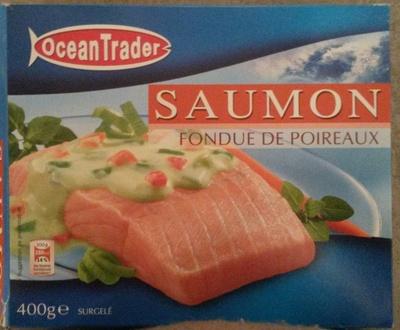 Saumon Fondue de Poireaux, Surgelé
