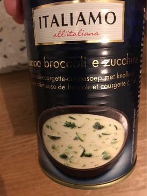 Broccoli Zuchini Cremesuppe