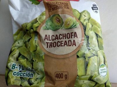 Alcachofa troceada
