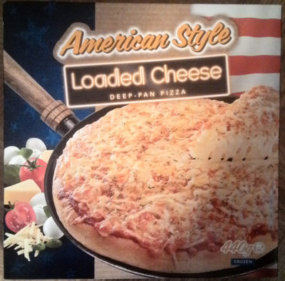 American Style Loaded Cheese Deep-Pan Pizza