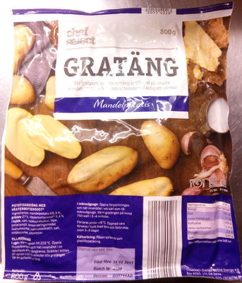 Chef Select Gratäng Mandelpotatis