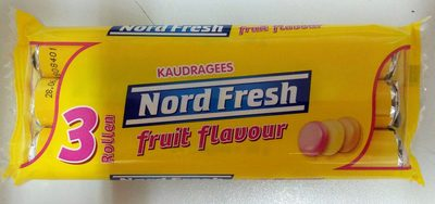 Kaudragees fruit flavor