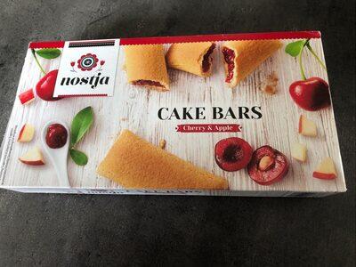 Cake Bars Cherry & Apple