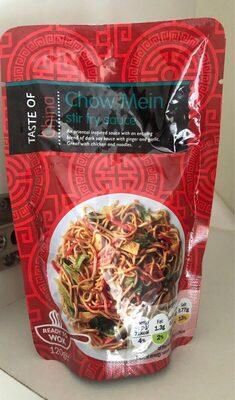 Chow Mein Stir fey sauce