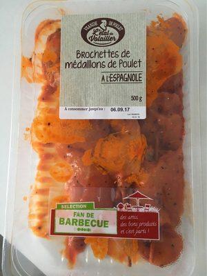 Medaillons de poulet à l'espagnol