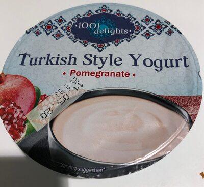 Turkish style yogurt