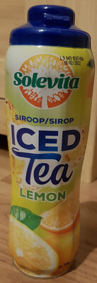 Sirop iced tea lemon