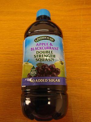 Apple & Blackcurrent Double Strength Squash