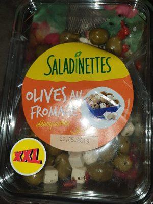 Saladinettes olives au fromage