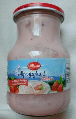 Alpenjoghurt Erdbeer