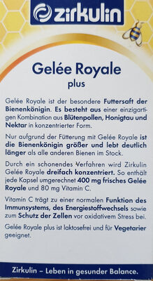 Gelee Royale plus