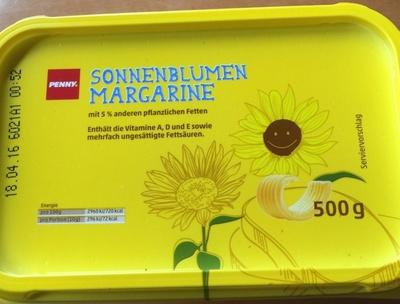 Sonnenblumenmargarine