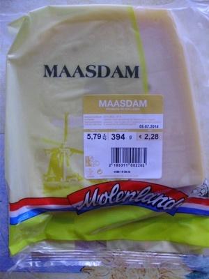 Maasdam (27% MG) - 394 g - Molenland