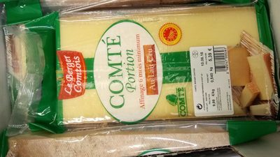 Compté portion affinage 6mois minimum au lait cru