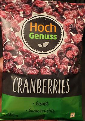 Cranberries getrocknet / Canneberges séchées