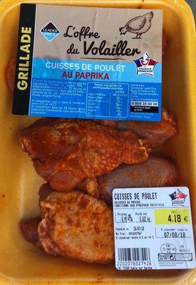 Cuisses de poulet au paprika
