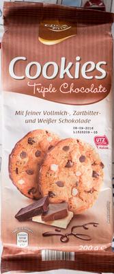 Cookies Triple Chocolate