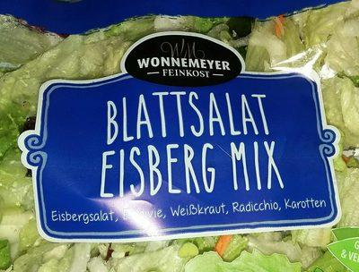 Blattsalat Eisberg Mix