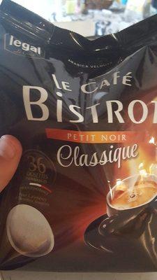 Le café Bistrot  petit noir classique