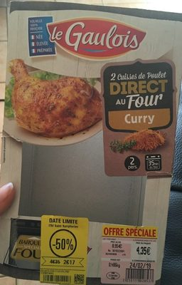Cuisses de poulet curry