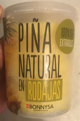 Piña Natural en Rodajas