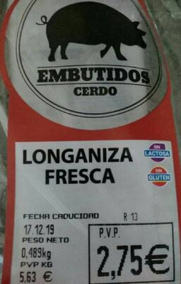Longaniza Fresca