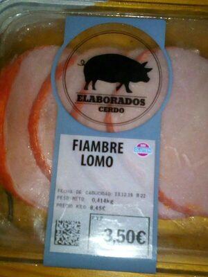 Fiambre lomo