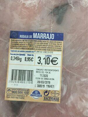 Rodaja de marrajo
