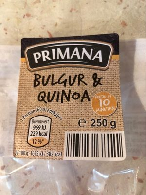Bulgur Und Quinoa