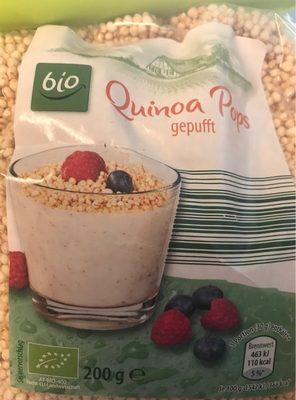 Quinoa Pops Gepufft
