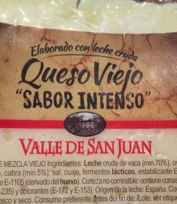 Queso viejo sabor intenso Valle de San Juan