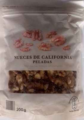Nueces de California peladas