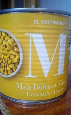 Maiz dulce en grano