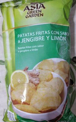 Patatas fritas con sabor a jengibre y limón