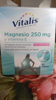 Magnesio 250 mg y Vitamina C