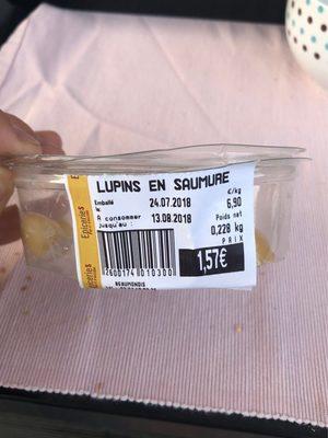 Lupins en saumure
