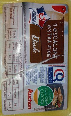 Escalope extra fine Dinde
