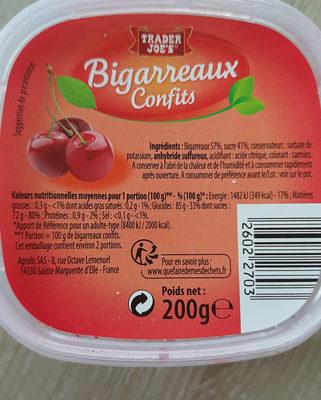 Bigarreaux Confits Poids Net:200g