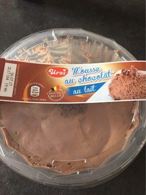 Mousse au chocolat noir au Lait