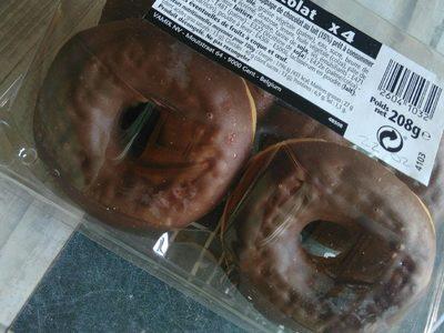 Donuts saveur chocolat