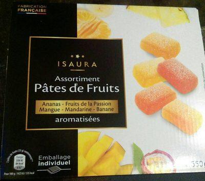Assortiment pâtes de fruits