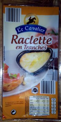 Raclette en tranches
