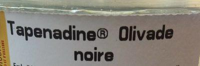 Tapenadine olivade noire