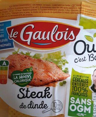 Steak de dinde Le Gaulois