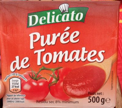 Puree de tomates