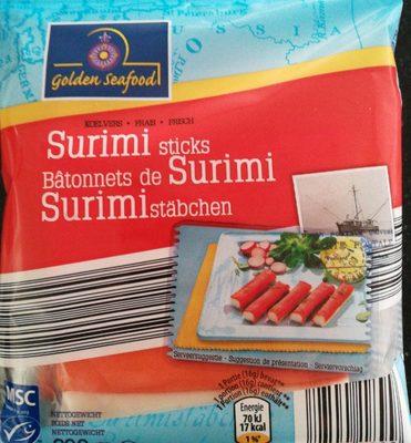 Surimi sticks golden seafood