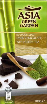 Chocolate Negro Con Té Verde