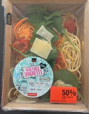 Spaghetti au legume