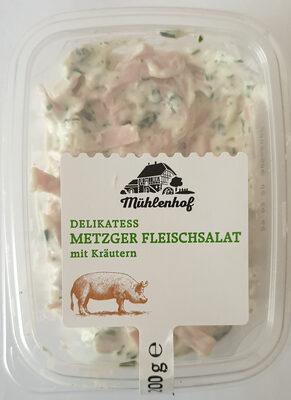 Delikatess Metzger Flesischsalat mit Kräutern